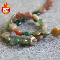 Novo NecklaceBracelet Acessórios 12mm multicolor Natural india Agate Beads Round DIY Jasper Loose Jade stones 15inch Jewelry