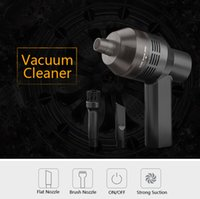 Wholesale Strong Car Vacuum - Hand Wireless Strong Vacuum Cleaner Dust suction blower Vacuum Sweeper Brush tool for Keyboard Laptops Pet house Car cordless vacuum cleaner
