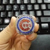 Wholesale Plate Engraving - 2017 New Arrival 2016 Cubs World Series Championship Rings Replica Offical Version BRYANT Engraving Goat Inside Drop Shipping