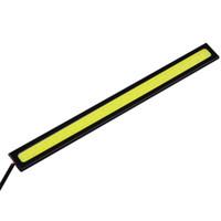 drl 17cm venda por atacado-Alta Qualidade 2 Pcs Brilhante COB Car Luzes LED 12 V Para DRL Fog Driving Lamp À Prova D 'Água 17 cm
