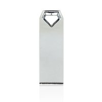 HanDisk Diamond Head Metal Drive 128MB / 1/2/4/16/32/64 / 128gb Usb Flash Drive Portátil USB Memory stick Disco rígido externo EU031