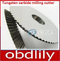 Wholesale Carbide C - Raise Tungsten carbide milling cutter for WenXing cutting machine 216 218 268 283 288 60*16*6 Dragon Sabre R114C. C locksmith