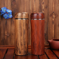Wholesale Pp Liner - crude wood Purple sand liner thermocup keep warm bottles insulation Cup thermos water bottle thermomug mug mighty mugs ZA3133