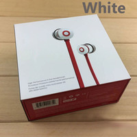 Wholesale Music Boxes For Gift - New High quality AAA in-ear Wired Headphone Stereo Bass with mic Ur Earphones Headset for phone PC Headphones Music brand Gift retail box