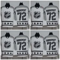 Wholesale Ice Stock - Columbus Blue Jackets Jerseys 2017 All Star Hockey Jerseys 72 Sergei Bobrovsky White All stiched Free shipping In Stock