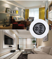 Wholesale New high end ceiling all white home lighting spotlights black and white color watt watt watt ceiling spotlights