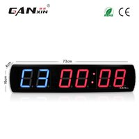 Wholesale GANXIN quot Digit GYM Timer big size muti function led countdown clock inch height character sports timers