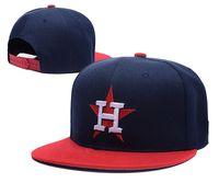 Wholesale Animal Chapeau - 2017 Wholesale-Houston Astros flat snapback strapback wool hats chapeau Sport team Letter H classic baseball adjustable caps bones
