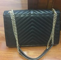 Wholesale Envelope Purse Phone - women messenger bags luxury handbags women bags designer shoulder bag ladies clutch purses and handbags crossbody chain bag for evening tote