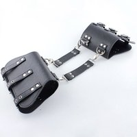 Wholesale femdom adult game resale online - Arm Restraints PU Leather Upper Arm Cuffs SM Bondage Sex Toys Sex Slave Femdom Bondage Gear BDSM Toys Adult Game