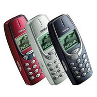 Wholesale Gsm Inch Cell Phone - Original Refurbished Nokia 3310 2.4 Inch Cell Phone GSM 900 1800 Dual Band Games 4 Unlocked Phones