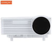 Wholesale Mini Home Dvd Projectors - Wholesale-100% Original H80 640 x 480 Pixels 800 Lumens Full HD 1080P Projector Home Theater Mini LED Video Proyector for DVD Set-top Box