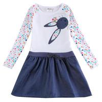 Wholesale Anna Nova - retail 18m 6Y anna elsa dress for girl dresses nova kids girl lace party princess elsa anna dress summer children clothing
