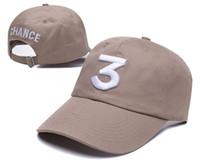 en iyi hip hop kapakları toptan satış-En iyi kalite 2017 şansı rapçi 3 Şapka Siyah Beyzbol Şapkası Moda kanye west ayı baba kapaklar casquette hip hop Strapback ...