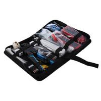 rastreador de tops al por mayor-TOPS Red Buena Calidad de Poder de Protección Cuchilla Kit de Herramientas de Mantenimiento de Computadora Cable Tester 200R Red Alicates Wire Tracker