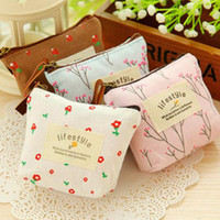 10 * 8cm Fleur Floral Pencil Pen Canvas Case Cosmétique Makeup Tool Organiseur Sac Femme Girl Travel Toiletry sac de sac à main sac à main ZA2545
