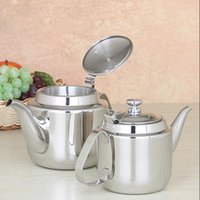 Wholesale Induction Cooker Used - Europe Style Thicker High Quality Stainless Steel Water Kettle With Filter Induction Cooker Use Tea Pot Free Shipping