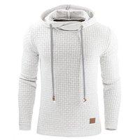 Wholesale Mens Hoddies - Wholesale- Plus Size Mens Hoodies 2017 New Winter Pullovers Leisure Solid Fashion Sweatshirt Hooded Coats Hoddies Sweatshirts