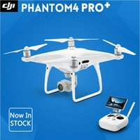 Wholesale Dji Gps - Factory Price !!! DJI Phantom 4 Pro   Pro+ Drone with 4K HD Camera 1 inch 20MP CMOS 5 Direction Obstacle Sensing Quadcopter GPS system