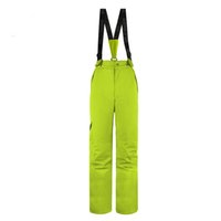 Wholesale Colorful Pants For Women - Wholesale- Wild Snow Overalls For Women Winter Colorful Ski Pants Warm Snowboard Pants Skiing And Snowboarding Women Pant Padded Waterproof