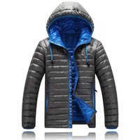 Wholesale North Face 3xl Jacket - 2017 hot sell New Winter Jacket Men north White Duck Down Jacket Ultra Light Men's Hooded Jackets Warm face jacket Coat 1501