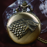Design House Games Online Wholesale Games Of Thrones Strak House Bronze Quartz Pocket Watch