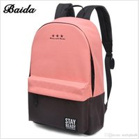 Wholesale Backpacks For Teens - The 2017 Hot Fashion models fashion bag Backpack School Women's and children's fashion leisure backpack travel bag for teen bag201