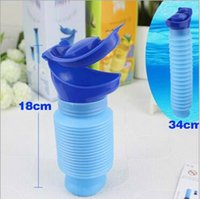 Wholesale Portable Toilets For Camping - Unisex Mini Toilet Urinal Bucket for Car Travel Camping and Kids Potty Pee Training 750ML Family Portable Toilet CCA6052 50pcs
