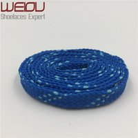 """Wholesale Turquoise Blue Flat Shoes - Wellace Hot Sales Fashion 10mm Width Kids Adult Blue Turquoise Athletic Sport Sneakers Flat Shoelaces Bootlaces Shoe laces Strings 120cm 47"""""""
