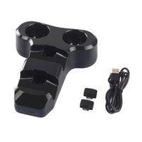 Wholesale Playstation4 Controller - Four in one Seat Charger Controller Double Handle Double VR Hand USB Charging Dock Station Stand For Playstation4