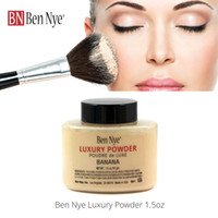 Wholesale Hot Sale New Ben Nye Luxury Banana Loose Powder OZ Silky Smooth Texture Face Powder Free DHL Shipping Drop Shipping