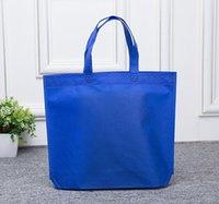 Wholesale Bag For Market - Wholesale- PJ.SDZM Women Street Market Non-Woven Fold Shopping Bags 1 To 7Colors For Choosing Model TBEAR