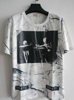 Wholesale Designer Shirts For Women - style Kanye West designer virgil abloh off white t shirt skull marble 3d printed brand tshirt for men women casual tees suprem