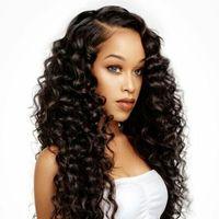 Wholesale Top Cheap Remy Hair - PASSION Top Quality Brazilian Hair Weaves 4 Bundles Brazilian Malaysian Peruvian Deep Curly Virgin Hair Cheap Remy Human Hair Extensions