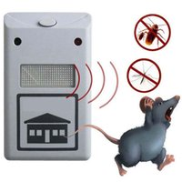 Wholesale electronic ultrasonic mouse mosquito resale online - NEW RIDDEX electronic pest repeller pest repelling aid ultrasonic electromagnetic Anti Mosquito Mouse Insect Cockroach Control