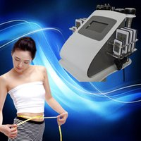 Wholesale Cavitation Body Face - ultrasonic cavitation beauty equipment rf face body laser fat reduction 6 in 1 radio frequency RF