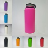 Wholesale Insulated Cap - 32oz Vacuum Insulated Stainless Steel Water Bottle Wide Mouth Cap Sports Hydration Gear Cup travel water bottles