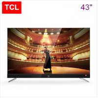 Wholesale Panel Products - TCL 43 inch slim alloy Harman Kardon intelligent flat panel TV 4K ultra-high-definition theater TV hot new product!