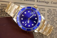 Wholesale Gold Sub Watch - Noob Factory Original Box Papers Sapphire Wristwatches SUB 40mm Black Dial 116610 116610BK 116610LN Automatic 2813 Movement Watch Watches