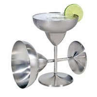 Wholesale Champagne Glasses Wholesale - 2017 New Stainless Steel Cocktail Cup, Margaret exclusive cocktail goblet, Wine cup, cup of champagne DHL FEDEX Free