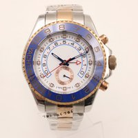Wholesale Gold Sellers - Factory Seller New Luxury AAA 40mm 18K Rose Gold Stainless Steel 116681 Mens Automatic Mechanical Movement sapphire Watch Mens WristWatches