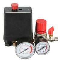 Wholesale Ac Pressure Switch - 15A 240V AC Air Compressor Pressure Switch Control 7.25-125 PSI