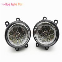 Wholesale Toyota Corolla Fog Lamps - 81210-06052 Car Styling LED Fog Lamps Refit Right + Left For Toyota Camry Corolla Yaris Lexus GS350 GS450h LX570 LX570 RX450h