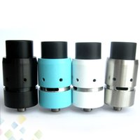 Wholesale Design Contacts - Vapor Velocity RDA Clone Rebuidable Atomizer 22mm Diameter Unique DIY Base Design 510 Thread Copper Contact Velocity DHL Free