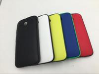 Wholesale Moto Door - 100% Original Grip Shell Back Cover for Motorola Moto G XT1031 XT1032 XT1033 Protective Battery Housing Door Phone Case Fundas