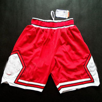 Wholesale Mens Basketball Sport Cheap Basketball Shorts Sport Pants All Team Sportwear Embroidery Mesh Basketball Shorts