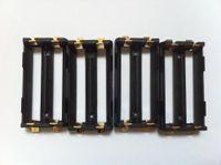 ingrosso ioni di supporto-Chiave di alta qualità SMT portabatteria scatola fai da te Mod li ion ni-mh lifepo4 18650 porta batteria dual 2 * 18650 batteria slitta con schede SMT