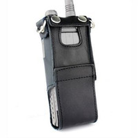 Wholesale Radio Leather - Extended Leather Soft Case For Baofeng UV-8HX Walkie Talkie with free shipping