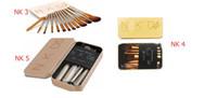 Wholesale Ups Power Metal - Hotsale NAKED345 Power Brush Makeup Brushes Professional Make Up Brush kit Maquiagem Beauty eye FaceTool Metal Box
