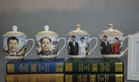 Wholesale Chinese Porcelain Mug - Ceramic Mug Tea Cup with lid Bone China Big mug vintage China cups Classical porcelain cup pottery Chairman Chinese dragon Boss cup